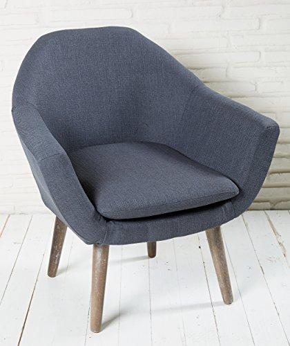 polsterstuhl dunkelgrau mit holzbeinen esszimmerstuhl. Black Bedroom Furniture Sets. Home Design Ideas
