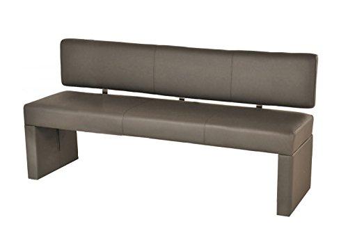 SAM® Esszimmer Einzel Sitzbank muddy 180 cm SINA komfortabel robust widerstandfähig schlicht elegant Lieferung erfolgt über Paketdienst teilzerlegt