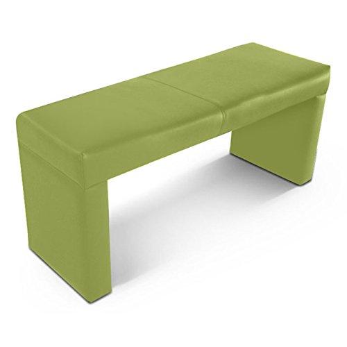 SAM® Sitzbank Alica 140 cm lemon green angenehme Polsterung pflegeleicht grün teilzerlegt Auslieferung durch Paketdienst