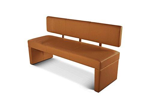 sam sitzbank sander 180 cm in cappuccino komplett bezogen angenehme polsterung teilzerlegt. Black Bedroom Furniture Sets. Home Design Ideas