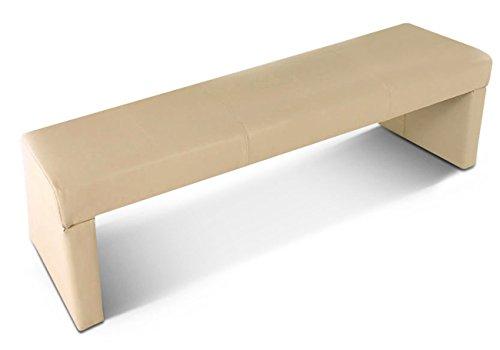 sam sitzbank tobago 140 cm in creme komplett bezogen. Black Bedroom Furniture Sets. Home Design Ideas