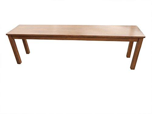 SAM® Sitzbank Tom II 160x33 cm nussbaumfarbig massiv