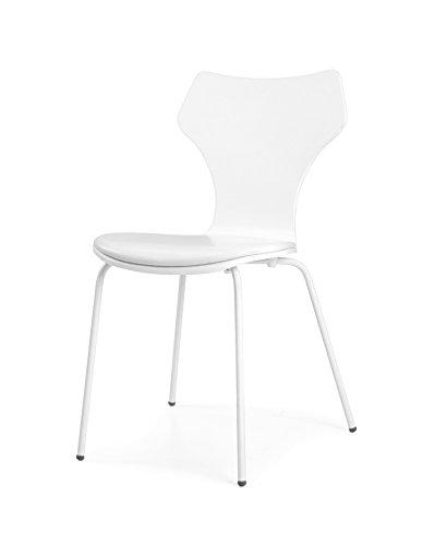 tenzo 0601 001 lolly 4er set designer st hle holz wei. Black Bedroom Furniture Sets. Home Design Ideas