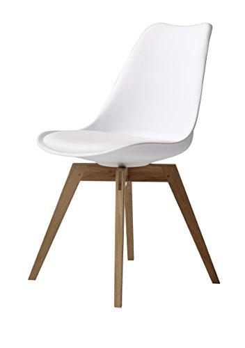 tenzo 1317 454 tequila designer stuhl bess 82 x 48 x 54 cm wei eiche esszimmerst. Black Bedroom Furniture Sets. Home Design Ideas