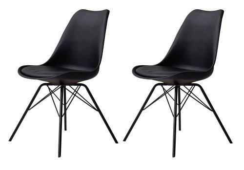 tenzo 3313 024 tequila 2 er set designer esszimmerstuhl porgy kunststoffschale mit sitzkissen. Black Bedroom Furniture Sets. Home Design Ideas