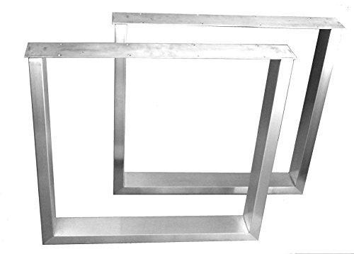 Tischgestell Edelstahl Kufengestell Tischuntergestell Tischkufe Untergestell