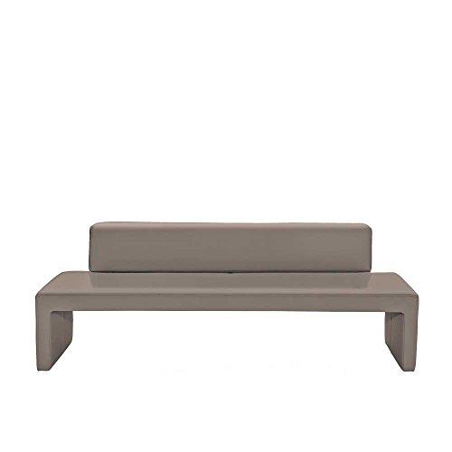 Esszimmerbank in Grau gepolstert Breite 222 cm Sitzplätze 4 Sitzplätze Pharao24