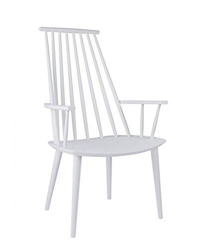 hay j110 stuhl wei poul m volther design esszimmerstuhl speisezimmerstuhl. Black Bedroom Furniture Sets. Home Design Ideas