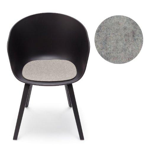 hay about a chair filz sitzauflage hellmeliert mit antirutsch hey sign esszimmerst. Black Bedroom Furniture Sets. Home Design Ideas