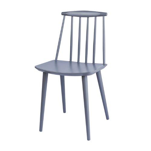 J77 stuhl grau hay design esszimmerst hle for Design stuhl grau