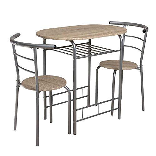 Sitzgruppe für Küche Eiche Sonoma (3-teilig) Pharao24