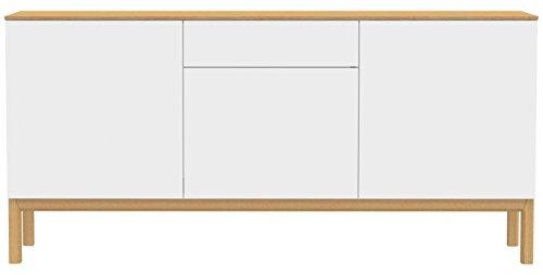 Tenzo 2275 454 patch designer sideboard lackiert matt for Sideboard untergestell