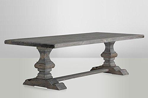 casa padrino landhaus esstisch eiche rustic grey barock. Black Bedroom Furniture Sets. Home Design Ideas