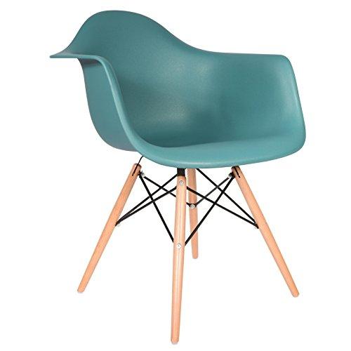 Stuhl, DAW-Stil,Ozeanblau