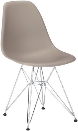 vitra 440022000125 stuhl dsr eames plastic sidechair gestell verchromt mauve grau 0. Black Bedroom Furniture Sets. Home Design Ideas