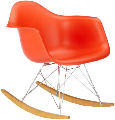 vitra 4401130003 stuhl rar eames plastic armchair gestell verchromt rot esszimmerst. Black Bedroom Furniture Sets. Home Design Ideas