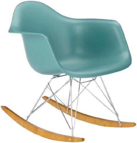 Vitra 4401130021 Stuhl RAR Eames Plastic Armchair Gestell verchromt ocean