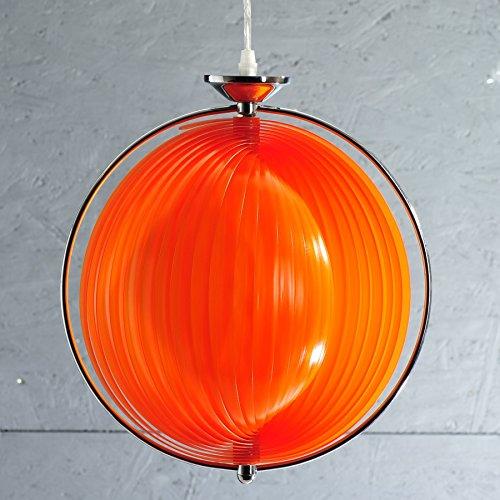 cag design retro lounge h ngelampe bola orange 40cm designklassiker esszimmerst. Black Bedroom Furniture Sets. Home Design Ideas