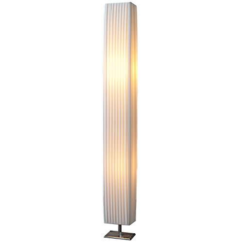 Designer Stehlampe Facile weiß
