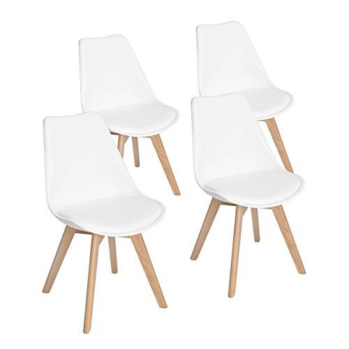 ajie set von 4 st hle 52x48x82cm trend skandinavischen. Black Bedroom Furniture Sets. Home Design Ideas