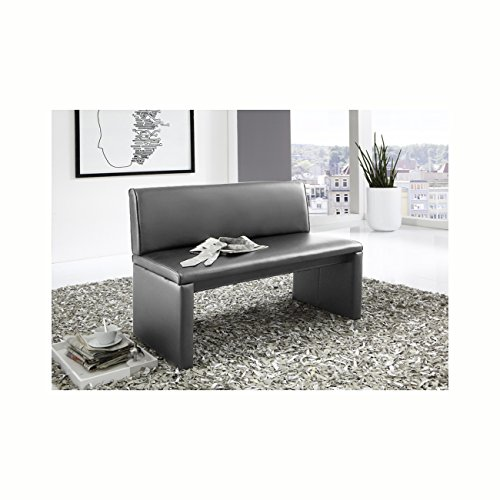 sam esszimmer sitzbank in grau 180 cm breite sitzbank mit pflegeleichtem samolux bezug. Black Bedroom Furniture Sets. Home Design Ideas