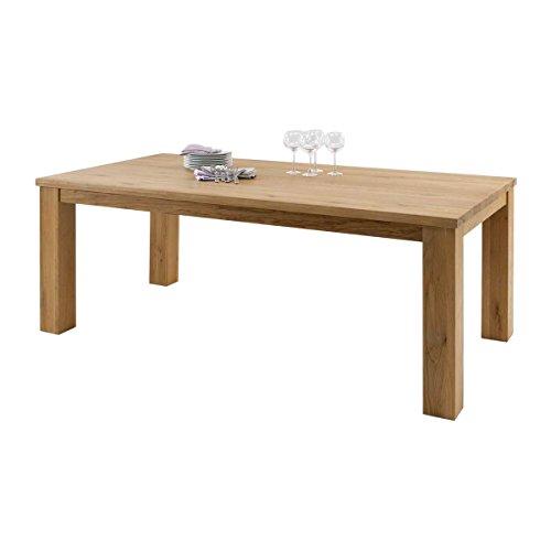 esstisch esszimmertisch arkl nd 160x100 massivholz holz wildeiche massiv ge lt breite 160 cm. Black Bedroom Furniture Sets. Home Design Ideas