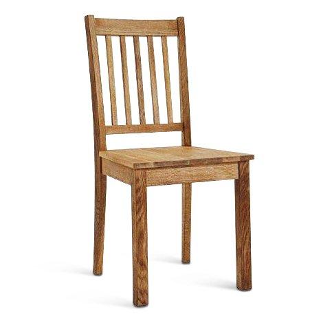 SAM® Esszimmer Esszimmerstuhl Küchenstuhl Holz-Stuhl Damar aus geölter Wildeiche, natürliche Maserung, pflegeleichte Oberfläche, handgefertigter Stuhl