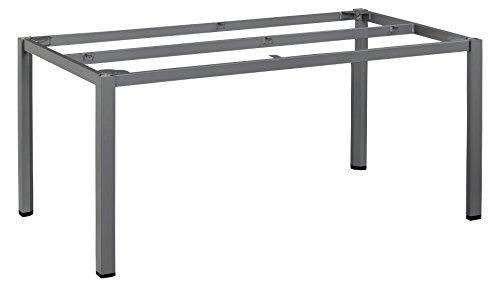 KETTLER Advantage Esstische Cubic-Tischgestell 160 x 95 cm, schwarz