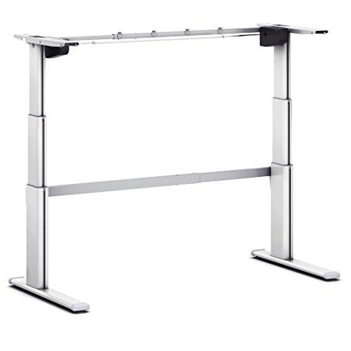 Tischgestell höhenverstellbar 630 - 1280 mm - aluminium