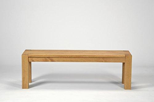 Sitzbank ,,Rio Bonito,, 140x38cm, Bank Massivholz Pinie, geölt und gewachst, Farbton Honig hell, Optional: passende Tische