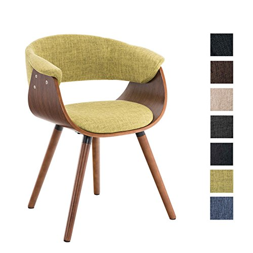 clp esszimmer stuhl pirma stoffbezug holzgestell walnuss gastro stuhl mit armlehne gr n. Black Bedroom Furniture Sets. Home Design Ideas