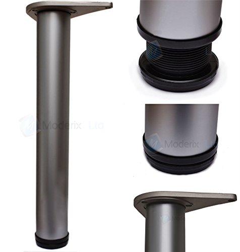 Tischbeine für Frühstückstheke, Aluminium, 820 mm, 4 Stück