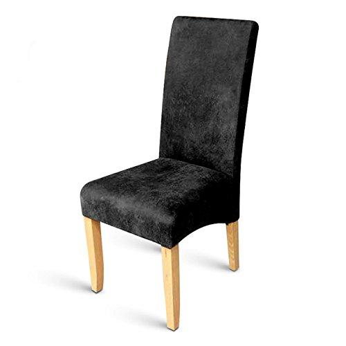 SAM® Esszimmer Stuhl in Wildlederoptik Stoff grau mit buche farbenen Beinen angenehme Polsterung Stuhl pflegeleicht [53258181]