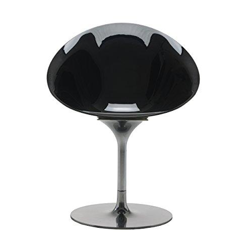 Ero/S Drehstuhl schwarz durchgefärbt