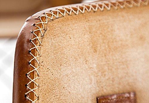 Dunord design stuhl esszimmerstuhl touchdown braun leder for Dunord design stuhl verona