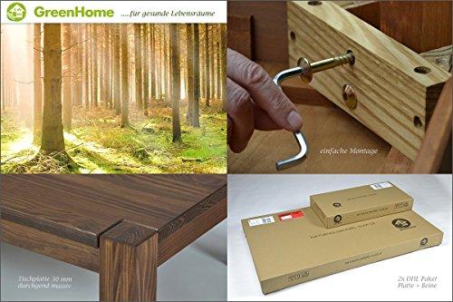 esstisch rio bonito 120x80 cm pinie massivholz ge lt. Black Bedroom Furniture Sets. Home Design Ideas