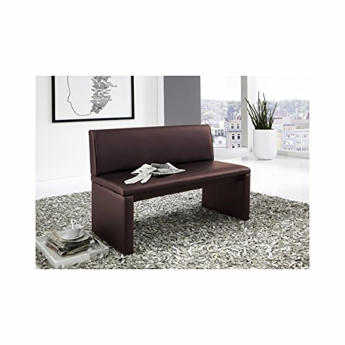 sam esszimmer sitzbank family brown in braun 100 cm breite sitzbank mit pflegeleichtem. Black Bedroom Furniture Sets. Home Design Ideas
