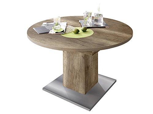 """Esszimmertisch Tisch Esstisch Küchentisch Speisentisch Holztisch """"Judd II"""" Wildeiche Trüffel"""