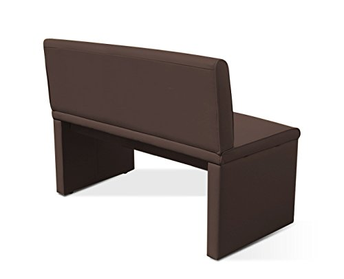 sam esszimmer sitzbank family brown in braun 160 cm breite sitzbank mit pflegeleichtem. Black Bedroom Furniture Sets. Home Design Ideas