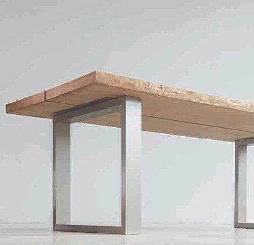 Tischgestell TG75, Tisch, Aluminium lackiert