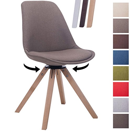 clp design retro stuhl troyes square stoff sitz. Black Bedroom Furniture Sets. Home Design Ideas