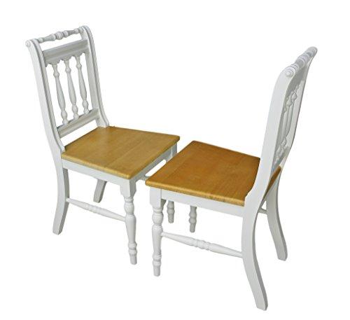 2x stuhl set holzstuhl k chenstuhl otto massiv vollholz. Black Bedroom Furniture Sets. Home Design Ideas