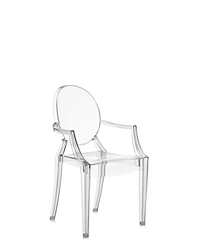 Kartell - Lou Lou Ghost Kinderstuhl - Philippe Starck - Design - Esszimmerstuhl - Kinderzimmerstuhl - Küchenstuhl - Speisezimmerstuhl