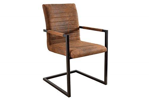Dunord design stuhl esszimmerstuhl new york vintage braun for Dunord design stuhl verona