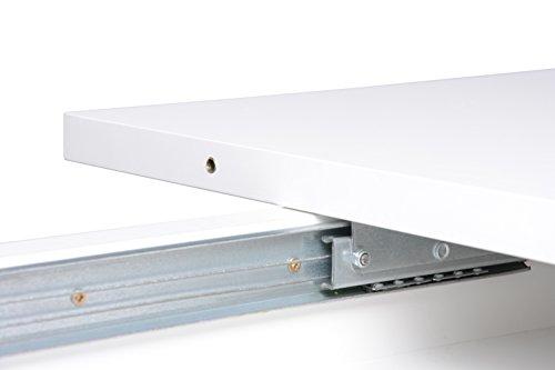 Intertrade 001639 Auszugstisch - Esstisch Toni, 160-200 x 75x 90 cm, dekor weiß
