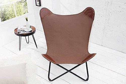 Dunord design sessel stuhl texas braun leinen loungesessel for Dunord design stuhl verona