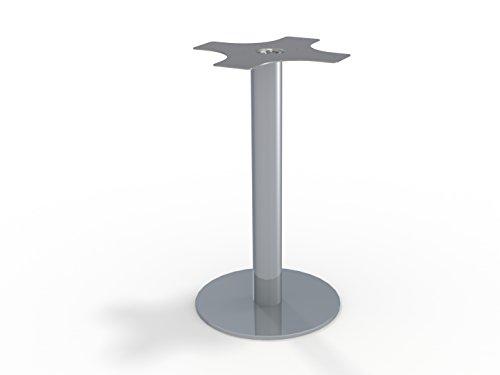 Tischgestell Tischsäule Bistrogestell Talia 550 Aluminium rund Höhe 725 mm