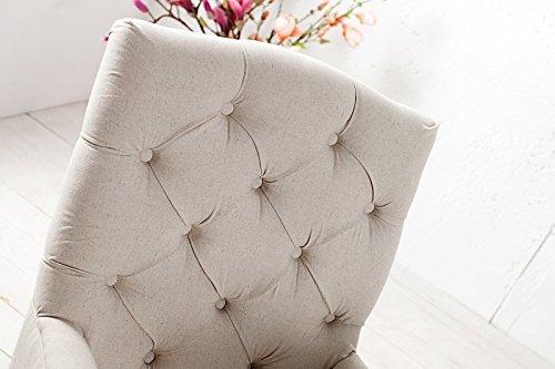 Dunord design stuhl esszimmerstuhl lyon beige leinen for Dunord design stuhl verona