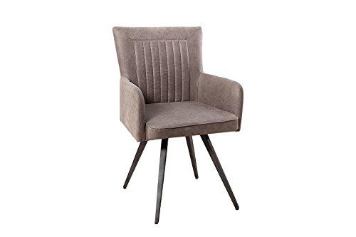 Dunord design esszimmerstuhl stuhl rallye mikrofaser antik for Dunord design stuhl verona