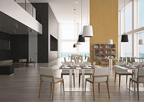 Tischgestell 2-Säulen Tischbein H 725 mm Aluminium eloxiert